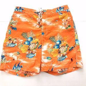 Polo Ralph Lauren Fish Swim Trunks